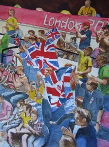 Enthusiastic British Supporters