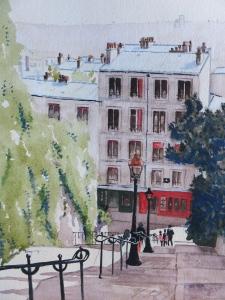 Montmartre Steps, Paris