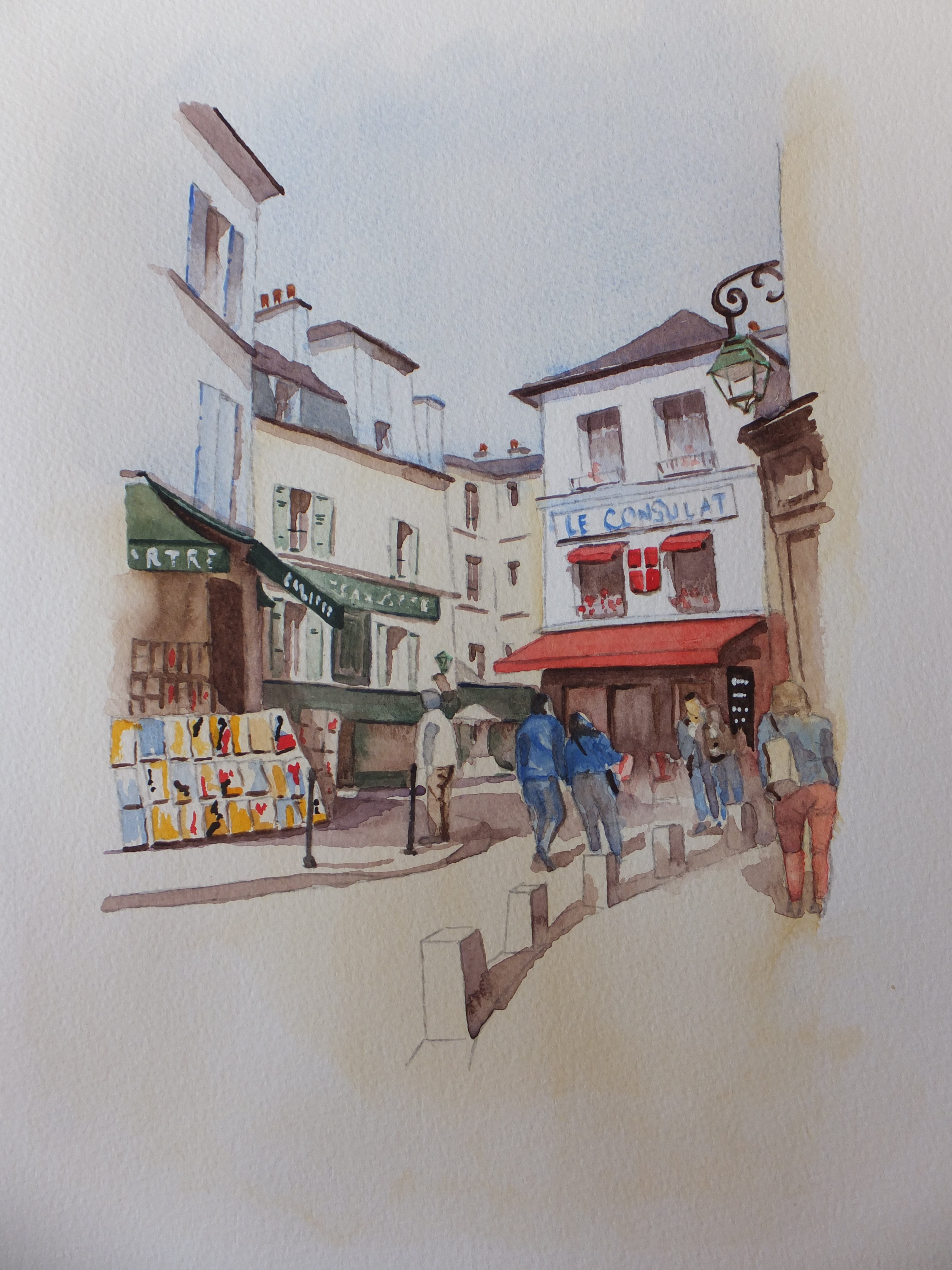 Stroll through Montmartre