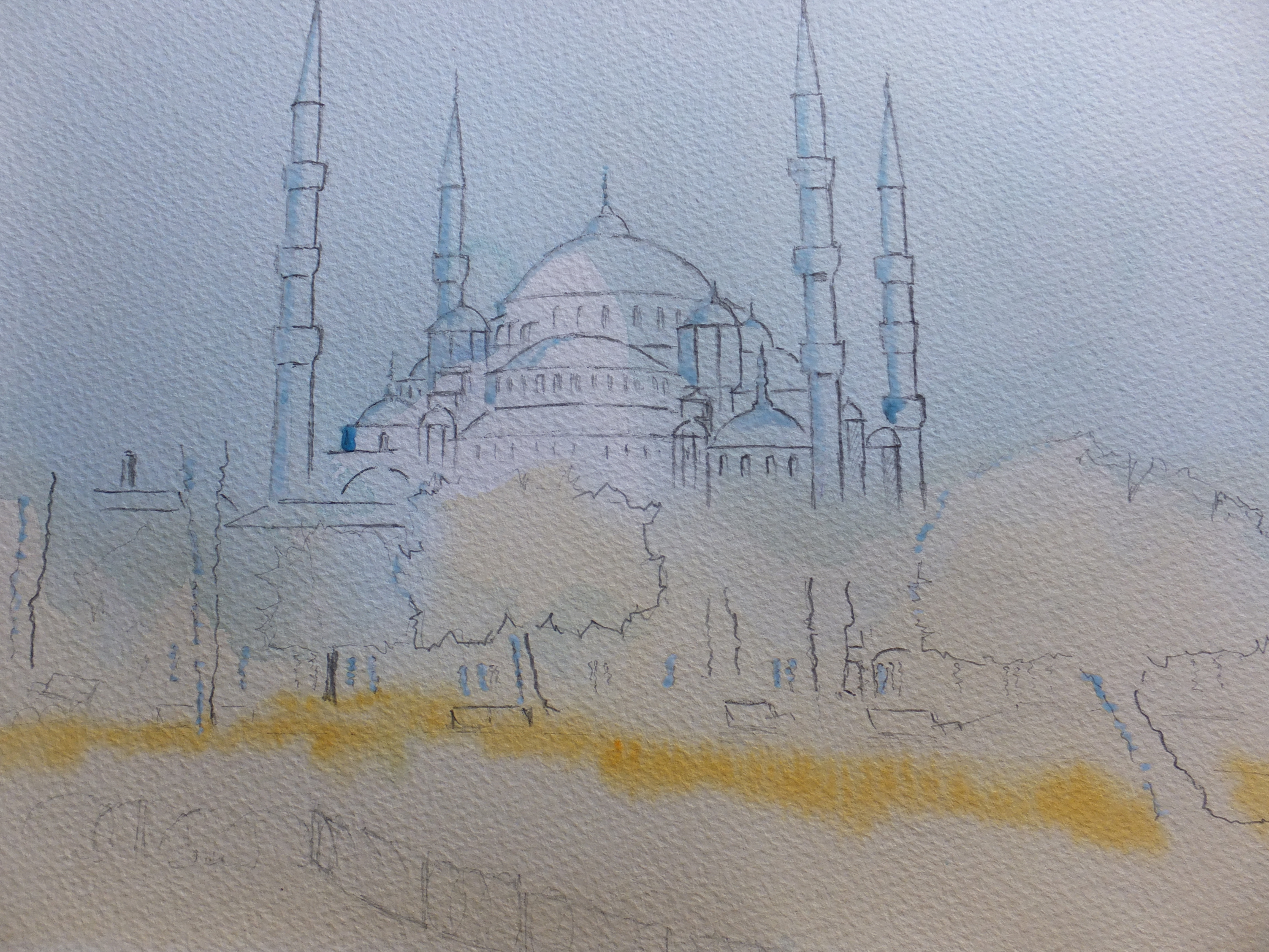 Blue Mosque First Wash