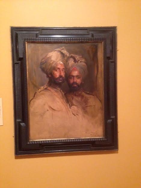 Risaldar Jagat Singh and Risaldar Man Singh by Philip de Laszlo 1916