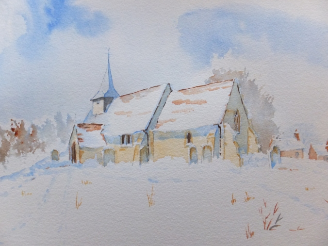 St.Nicholas Church, Pyrford, Surrey
