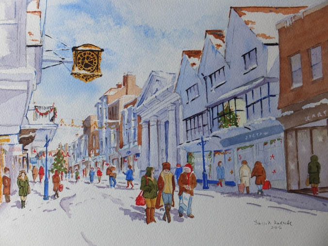 Signed revised Christmas Shopping Guildford High Street