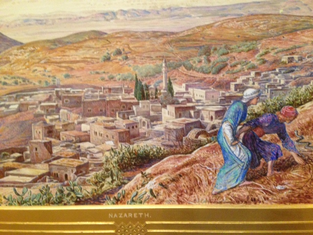 Holman Hunt painting of Nazareth