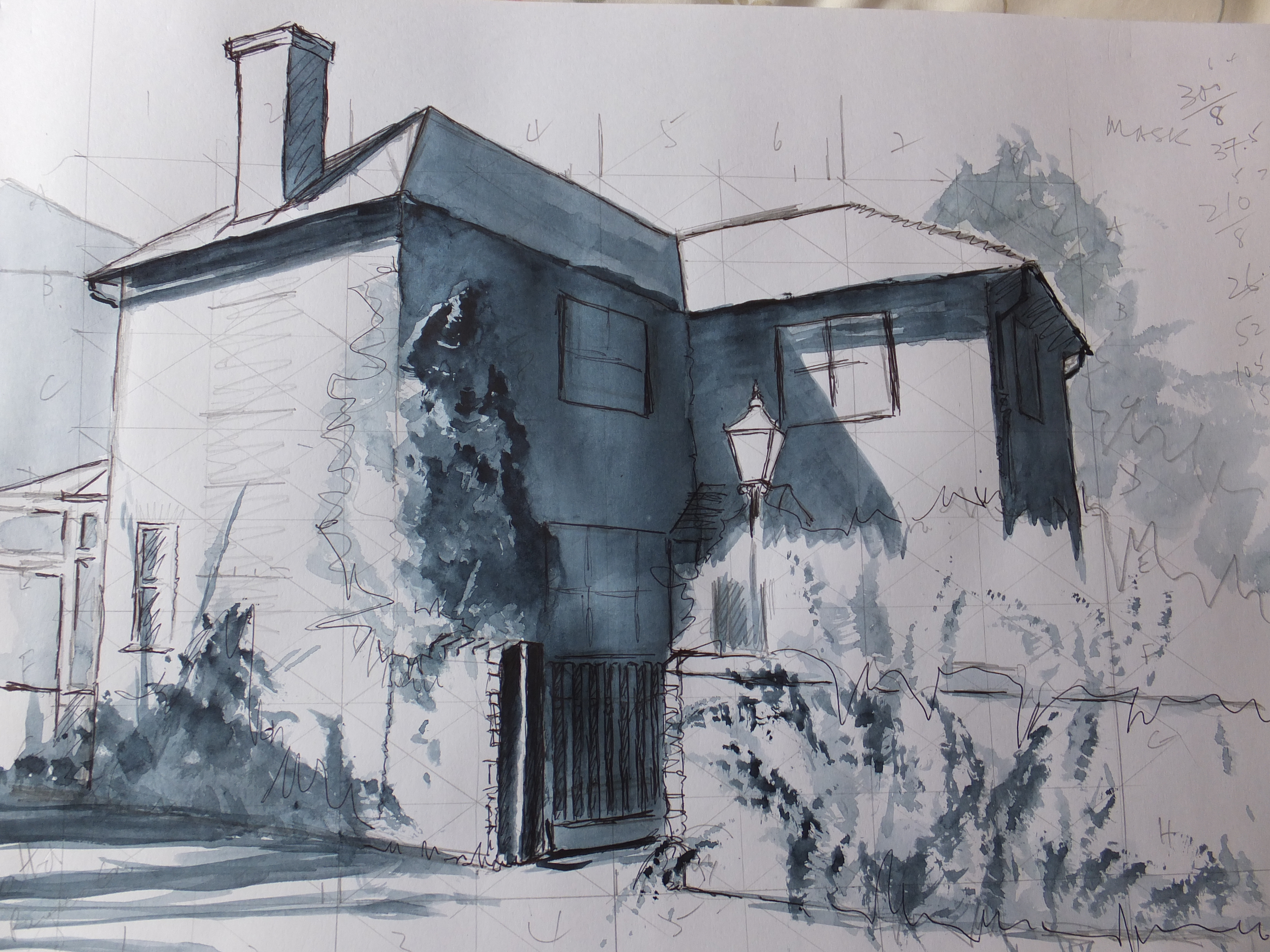 Lavant Tonal Sketch