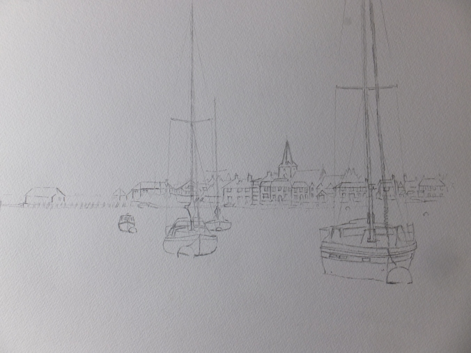 bosham-preparatory-drawing
