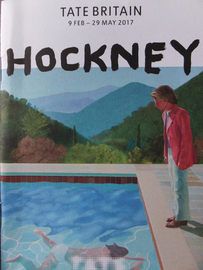 Pool with Two Figures 1972 detail by Hockney