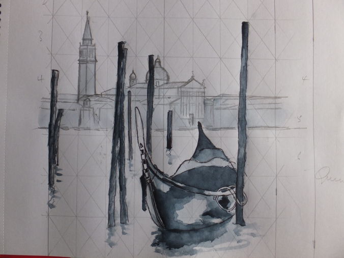 Venice Tonal Sketch