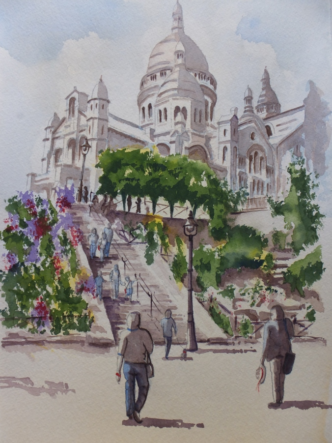 Exterior: Sacre-Coeur De Montmartre: The Finished Painting