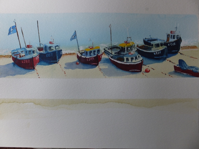 Fishing Boats at Beer Finished