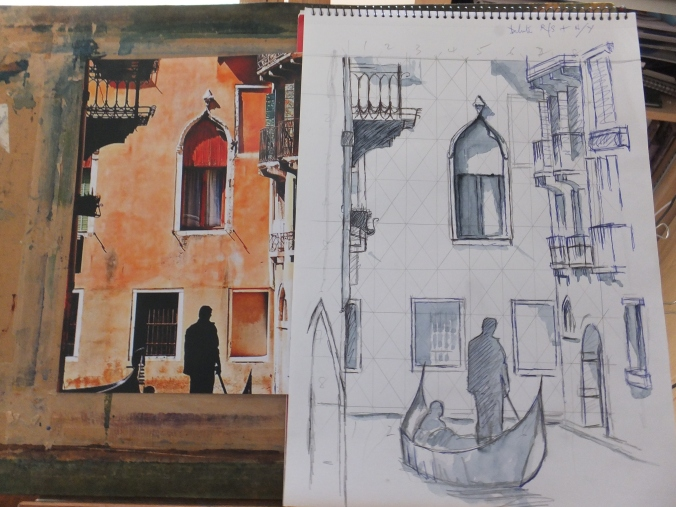 Venice Drawing