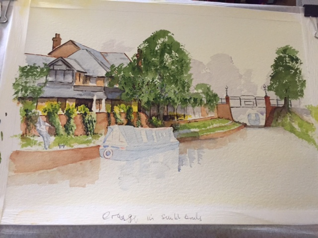 Basingstoke Canal Part Finished Only