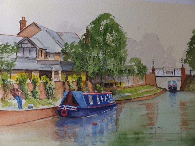 Basingstoke Canal St.Johns Finished