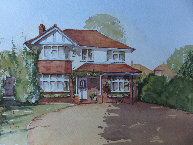 Finished House Portrait