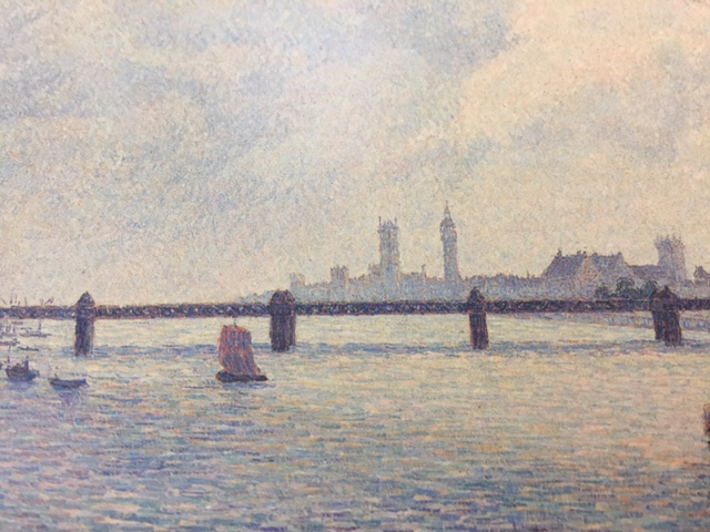 Charing Cross Bridge by Pissarro