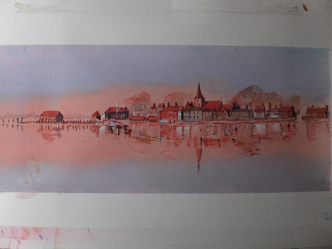 Finished Bosham Panorama