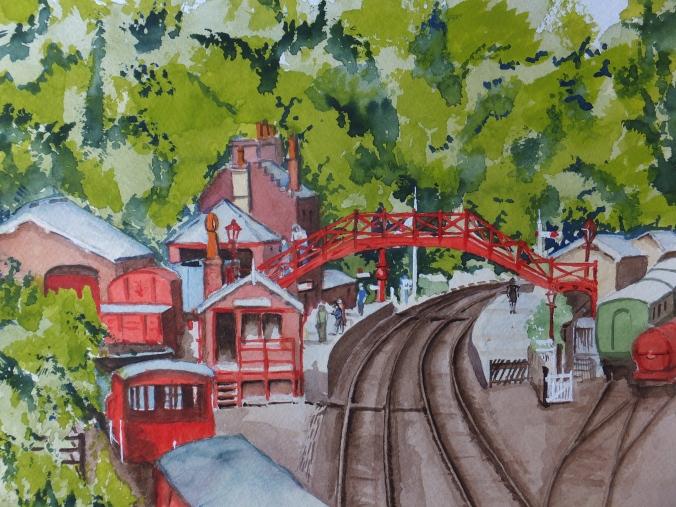 Goathland or Hogsmeade Railway Station