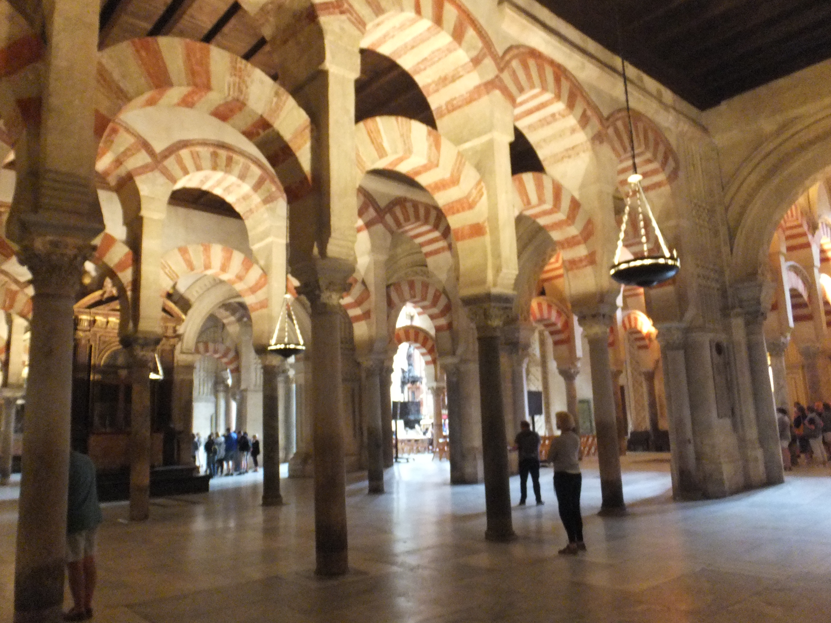 La mezquita-cathedrale in Cordoba